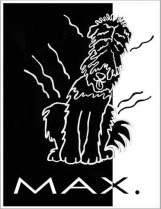 Max black and white logo